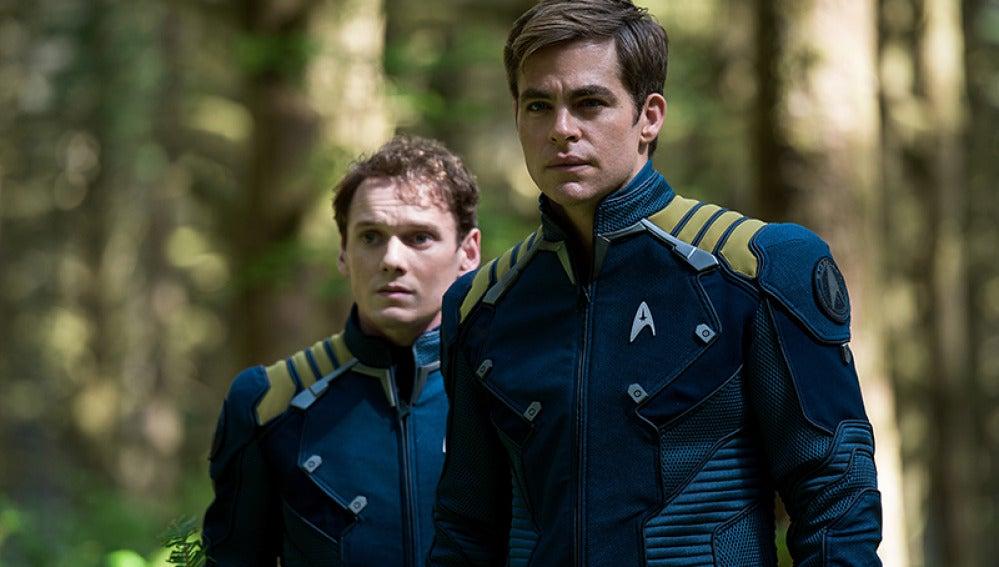 Chris Pine en 'Star Trek Más allá'