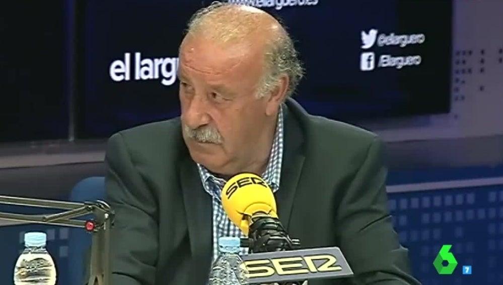 Vicente del Bosque, en una entrevista