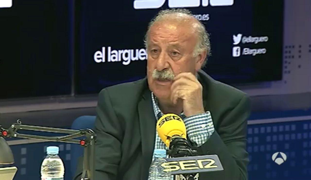 """Frame 0.0 de: Del Bosque, sobre Casillas: """"No ha estado bien con el cuerpo técnico"""""""