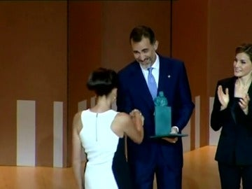 Frame 73.19465 de: Los Reyes entregan hoy los Premios Princesa de Girona 2016
