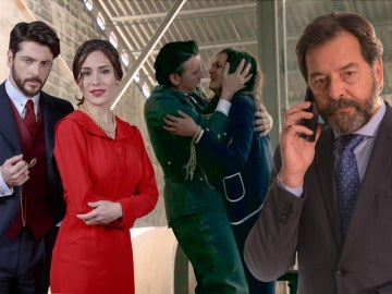 El reencuentro entre Camila y Hernando, entre lo mejor de la semana en las series de Antena 3