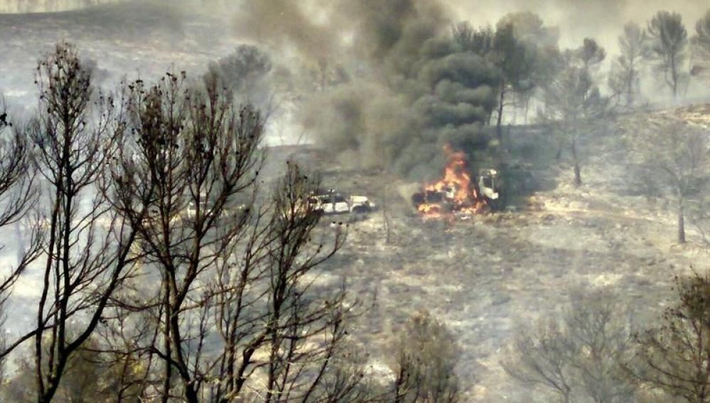 Incendio en Albacete