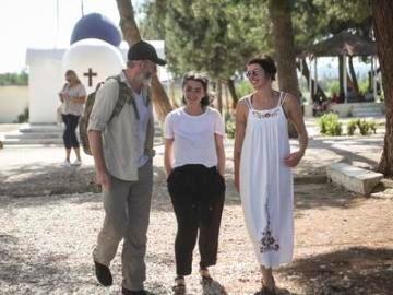 Los actores de Juego de Tronos, en Lesbos