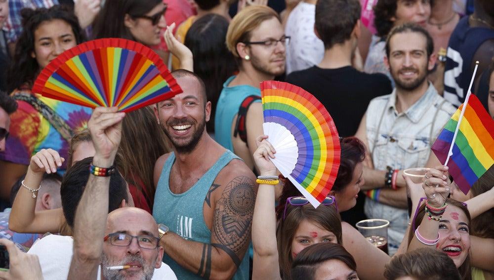 Fiesta del Orgullo Gay en Madrid
