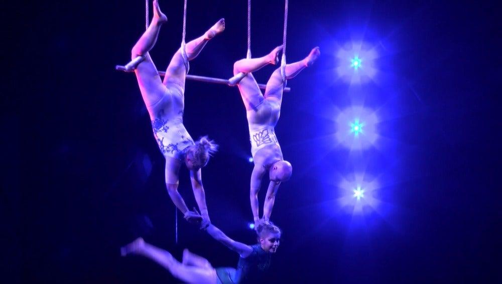 Scalada visión, de Cirque du Soleil