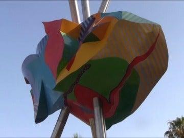Frame 19.79397 de: El arte español inunda las calles de Cannes