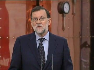 """Frame 0.0 de: Rajoy apela a un """"acuerdo de mínimos"""" para poner en marcha """"un Gobierno que pueda gobernar"""""""