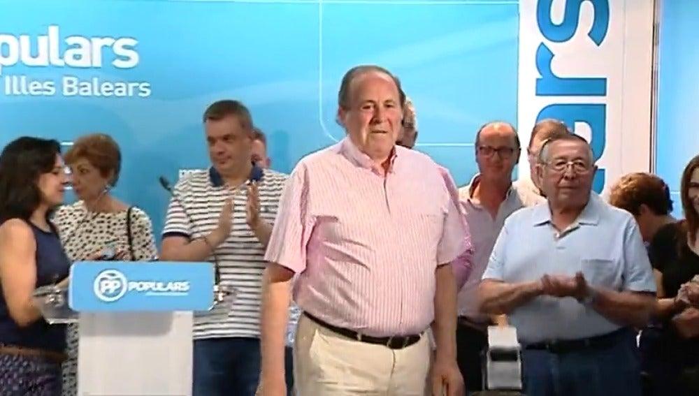 Frame 34.366354 de: El dimisionario presidente del PP de Palma niega relación con trama corrupción