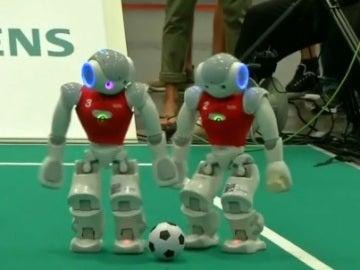 Imagen de la Robocup celebrada en Alemania