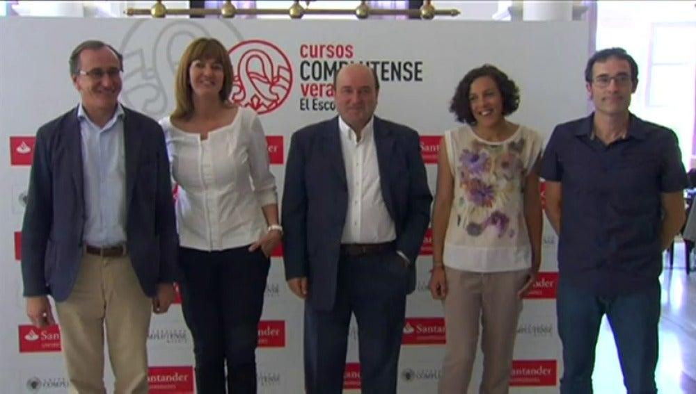 Frame 3.992771 de: Rajoy recibirá este miércoles en Moncloa a Aitor Esteban, portavoz del PNV en el Congreso