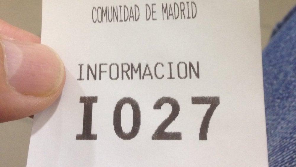 Ticket para el paro de Cayo Lara