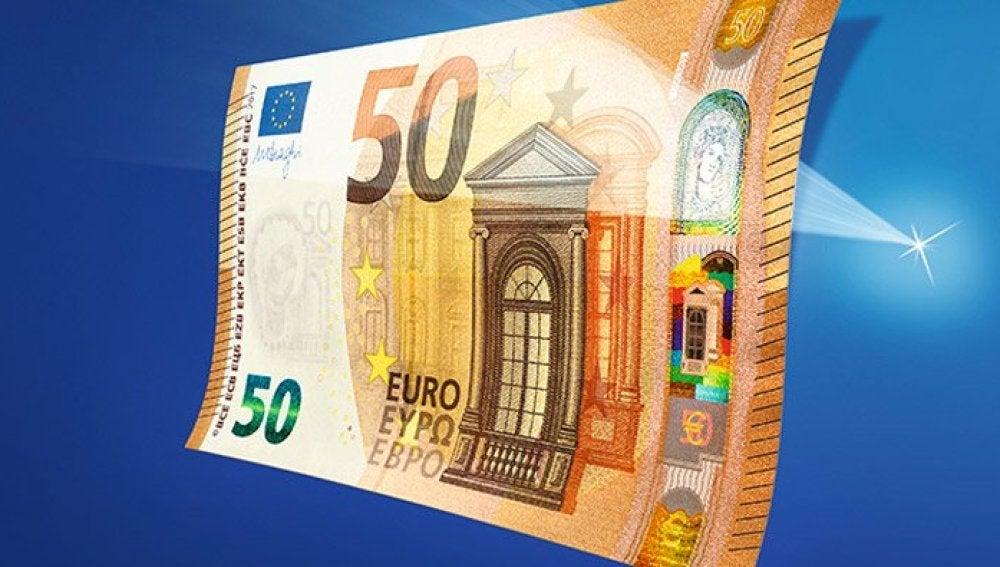 El nuevo billete de 50 euros que lanzará el BCE