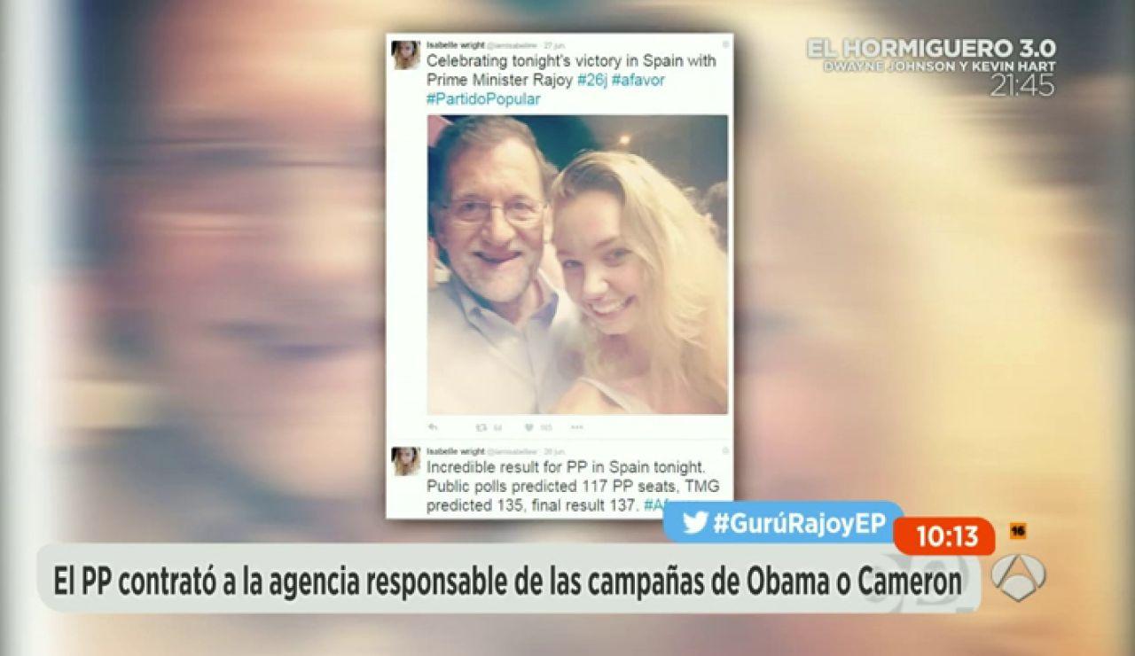 Frame 44.558901 de: Isabelle Wrigth, la gurú que impulsó la campaña de Mariano Rajoy para el 26-J