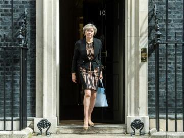 La ministra de Interior de Reino Unido, Theresa May