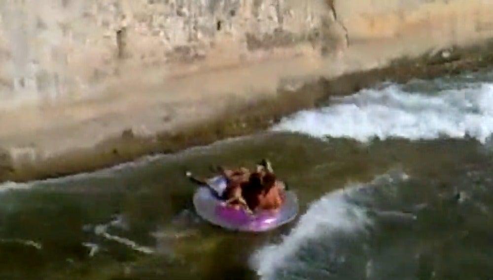 Imprudencias en ríos