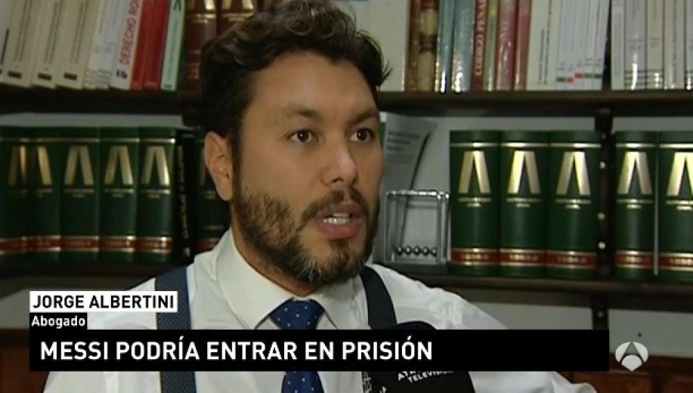 El abogado Jorge Albertini