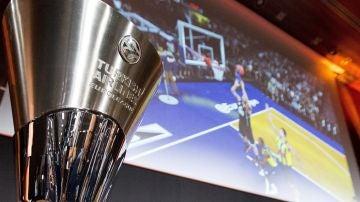 El trofeo de la Euroliga