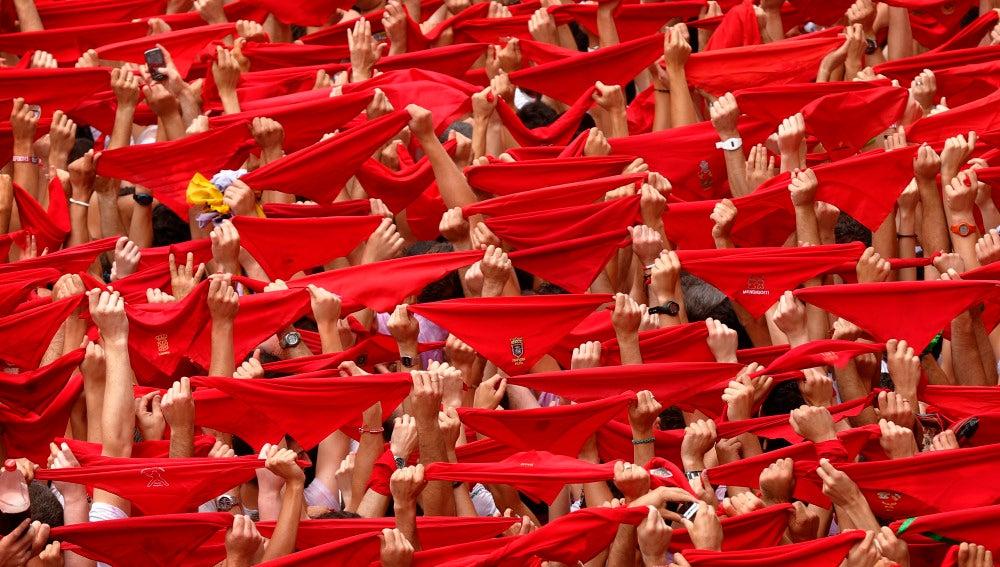 Pañuelo rojo de San Fermín.