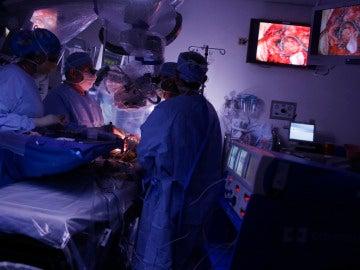 Operación de columna vertebral