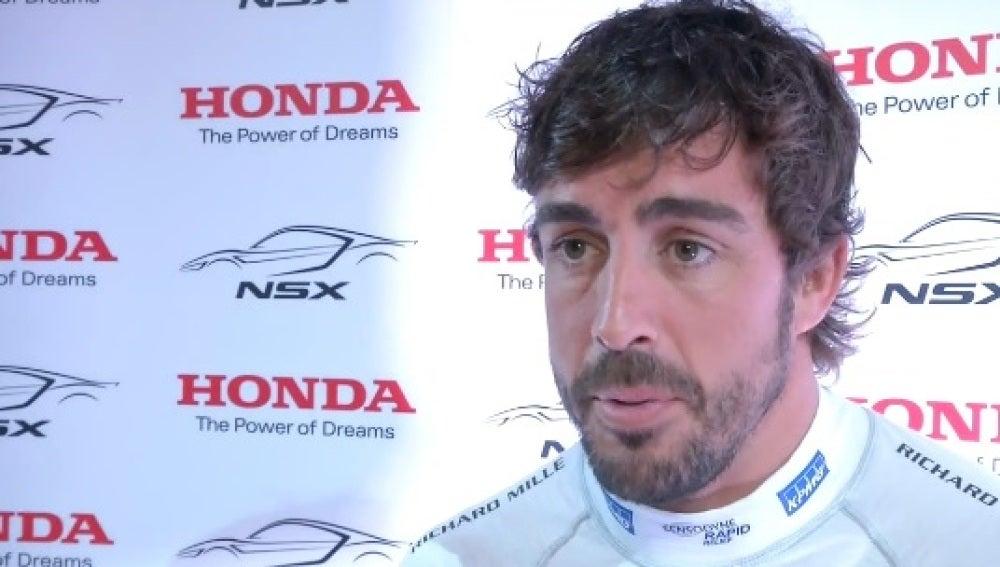 Fernando Alonso, en Estoril