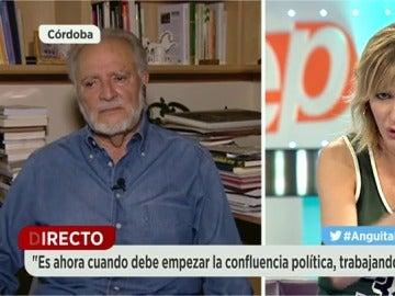 """Frame 364.328447 de:  Anguita: """"PP y PSOE comparten muchos conceptos y sería lógico que en estos momentos formaran coalición"""""""