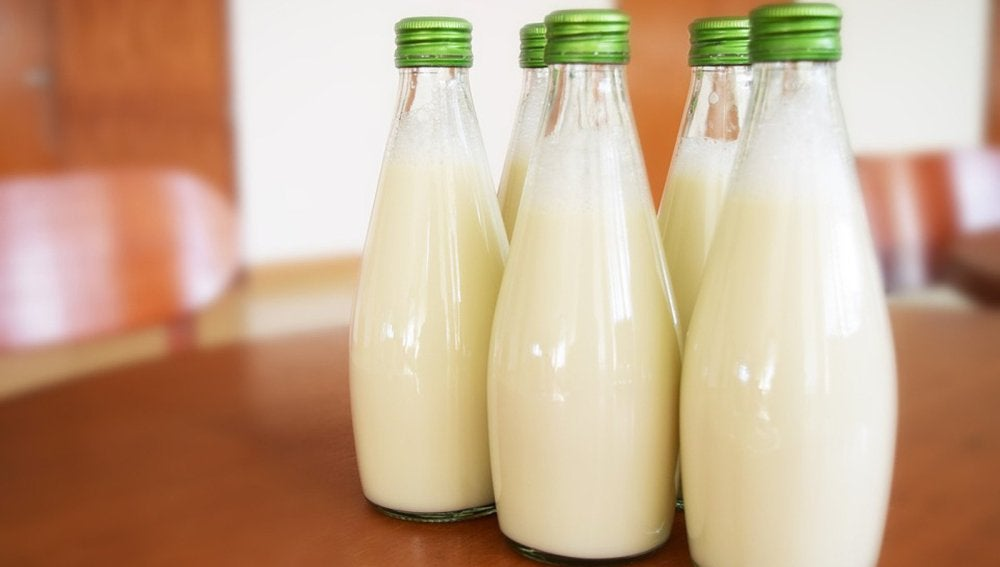 leche guisantes