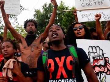 Protestas en Luisiana por la violencia policial