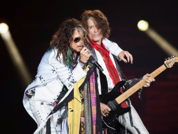 Steven Tyler y Joe Perry