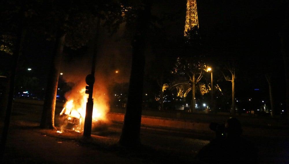Incidentes en París
