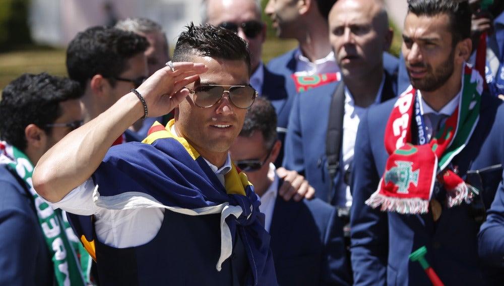 Cristiano, el comandante de Portugal
