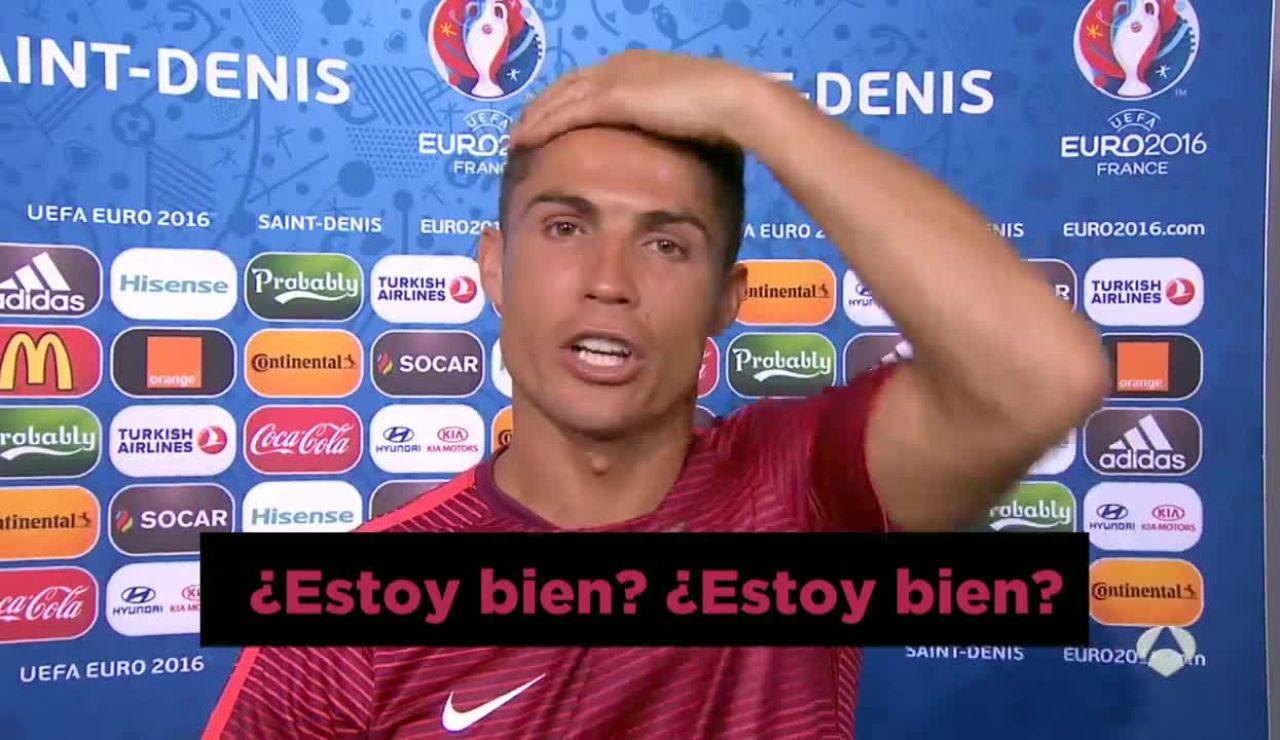 Cristiano Ronaldo, tras la final de la Eurocopa
