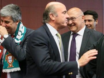 Luis de Guindos en el Eurogrupo