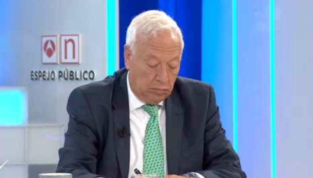 José Manuel García-Margallo en Espejo Público