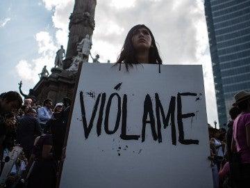 Protesta contra las agresiones sexuales