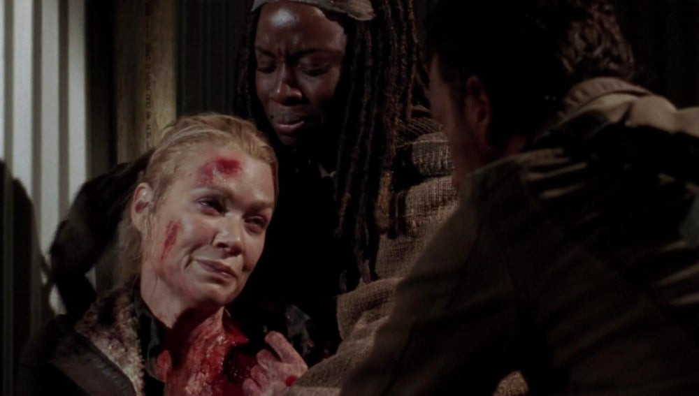 Laurie Holden, Andrea en 'The Walking Dead'