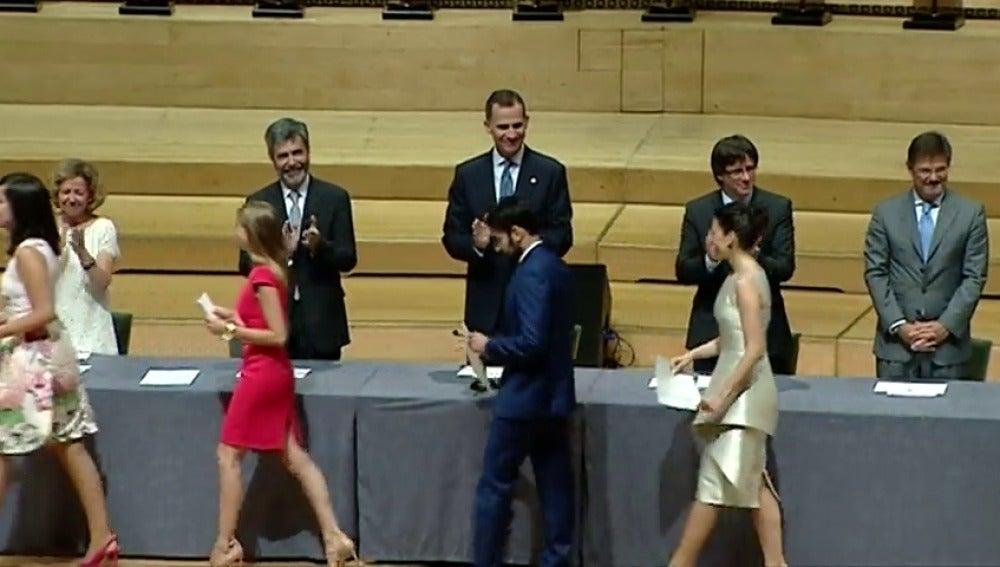 Frame 11.074994 de: El Rey Felipe VI insta a los nuevos jueces a defender la vigencia de los valores de la Constitución en Cataluña