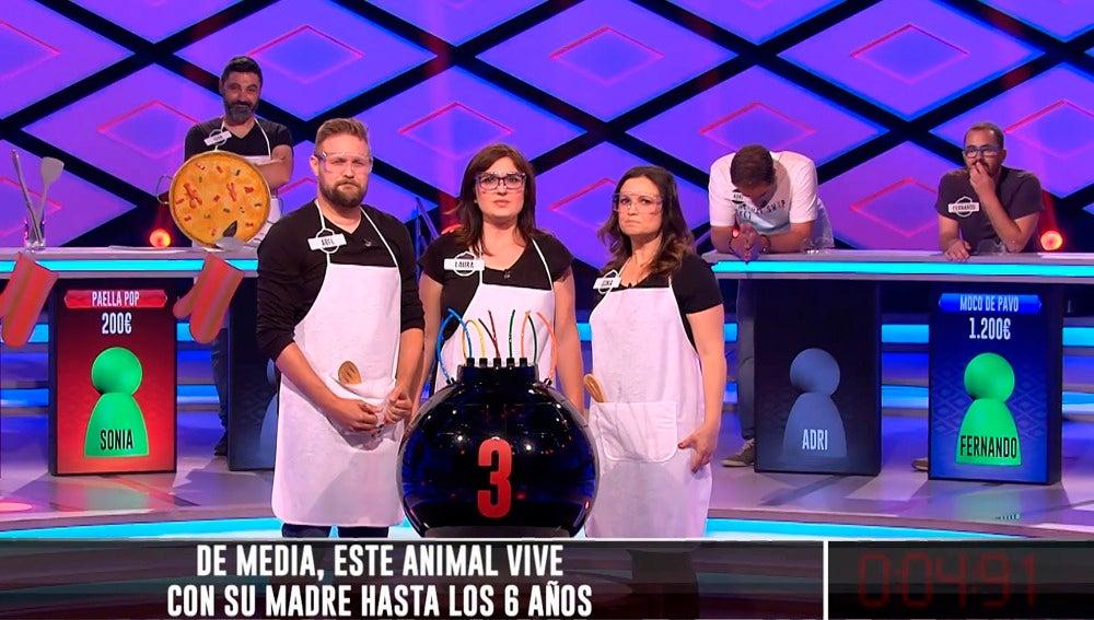 'Paella Pop' y 'Moco de4 Pavo'