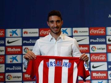 Vrsaljko, presentado como nuevo jugador del Atlético de Madrid