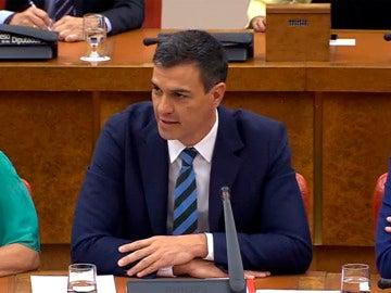 Sánchez, ante la dirección del PSOE
