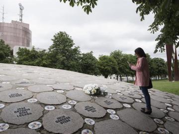 Homenaje a las víctimas de ETA