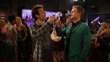 Barney y Ted en 'Cómo conocí a vuestra madre'