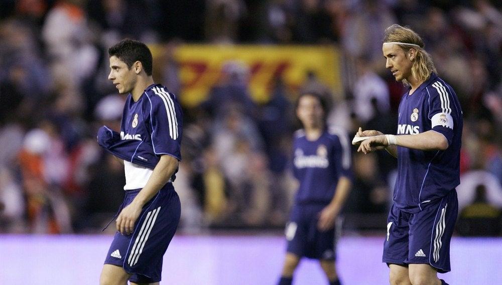 Cicinho señaló a Guti como uno de los 'capos' del Real Madrid