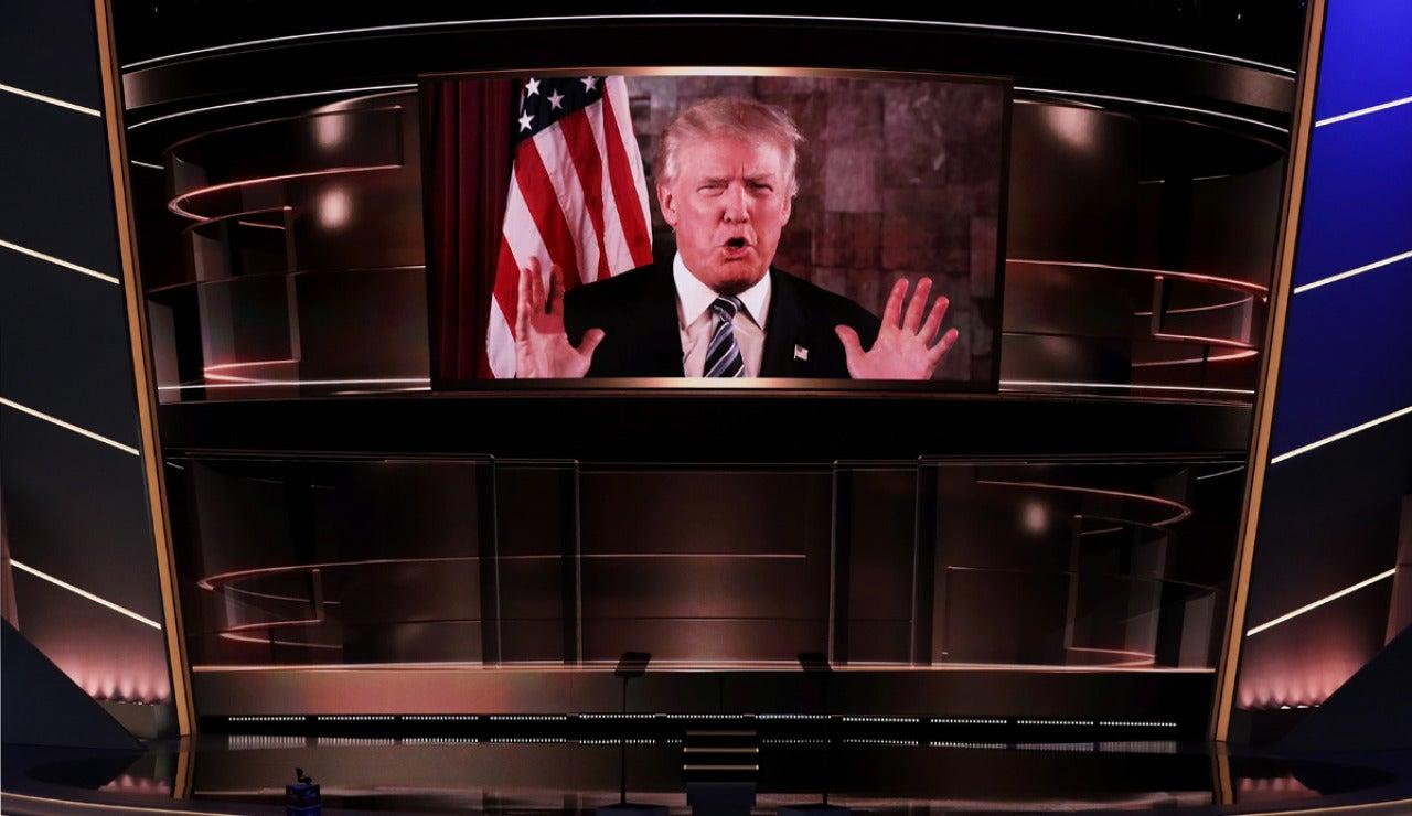 Donald Trump, tras ser nominado candidato republicano