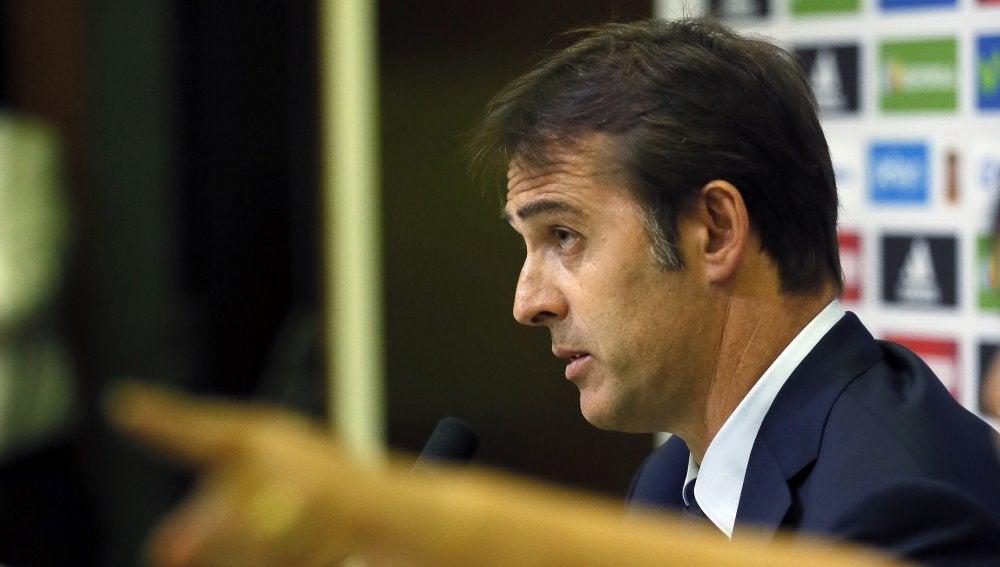 Julen Lopetegui, nuevo seleccionador nacional, en rueda de prensa