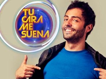 David Guapo, primer concursante masculino de la quinta edición de 'Tu cara me suena'
