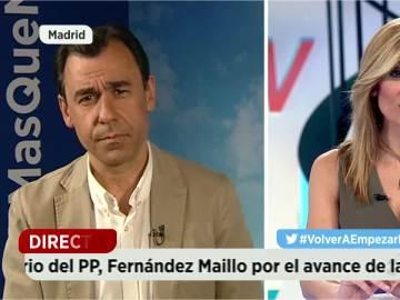 Maíllo y Sandra Golpe.