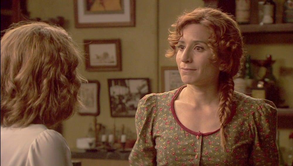 Fe y Emilia temen que Francisca las descubra