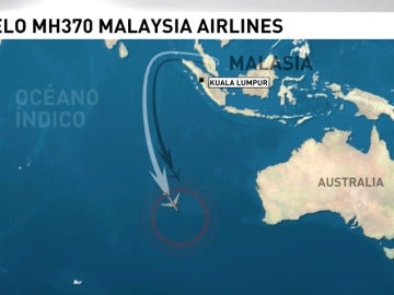 Frame 20.546402 de: El piloto del avión de las líneas aéreas de Malaysia desaparecido en marzo de 2014 pudo estrellar el avión voluntariamente
