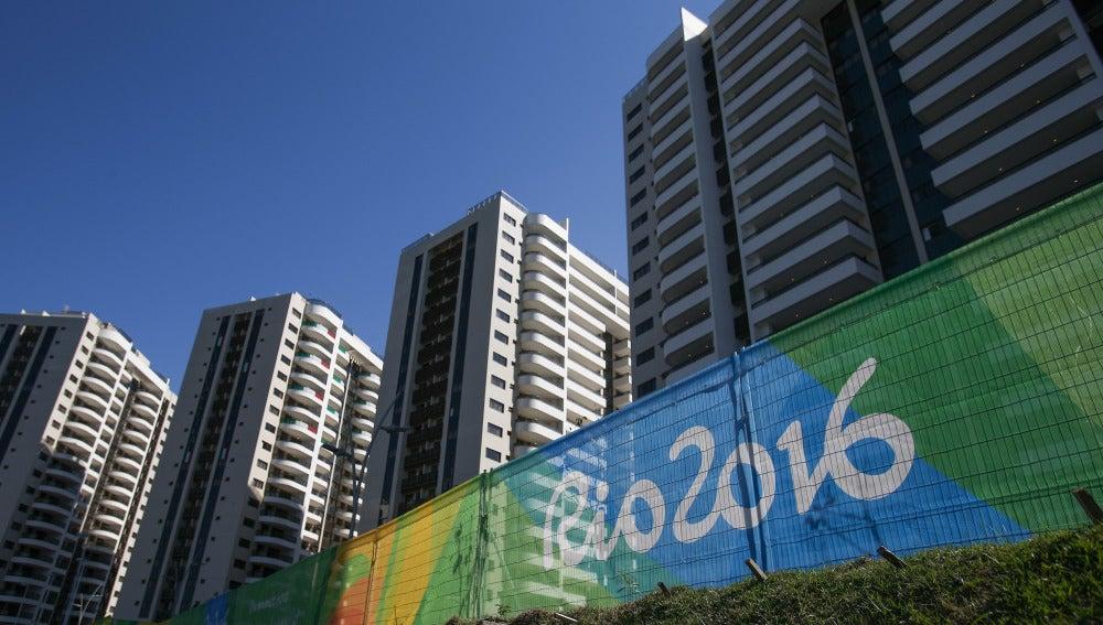 Imagen de la Villa Olímpica de Río de Janeiro