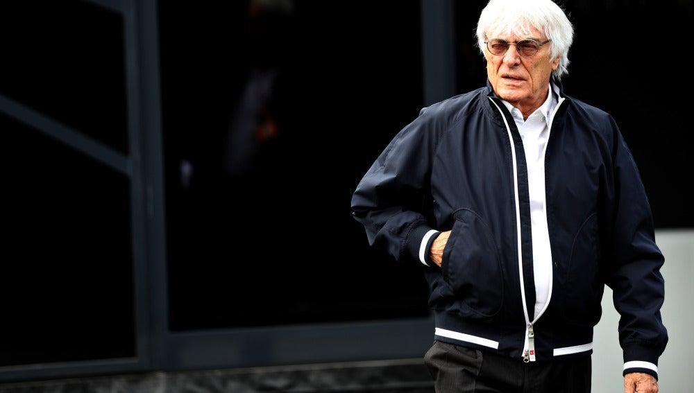 Bernie Ecclestone, en el GP de Austria